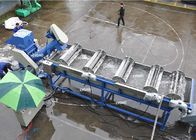 150-200kg/H Plastic Washing Line Custom Voltage With 7.5kw Spiral Conveyor