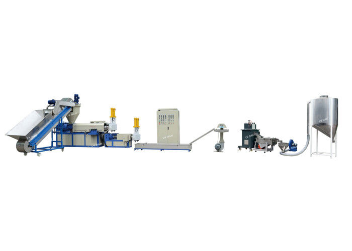Wet Film Plastic Recycling Equipment Pelletizing Line Power Saving Industrial